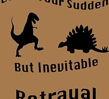 Inevitable Betrayal by Caitlin Jacobs