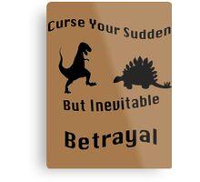 Inevitable Betrayal Metal Print