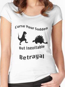 Inevitable Betrayal Women's Fitted Scoop T-Shirt