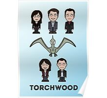 Torchwood team (print or card) Poster