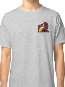 Morpheus Drinking a Forty in a Death Basket  Classic T-Shirt