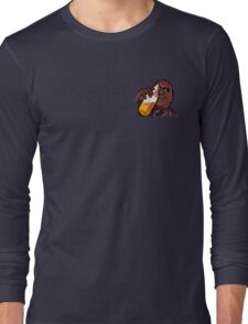 Morpheus Drinking a Forty in a Death Basket  Long Sleeve T-Shirt