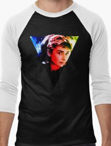 audrey hepburn  Design Men's Baseball ¾ T-Shirt