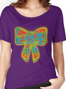 bow Women's Relaxed Fit T-Shirt