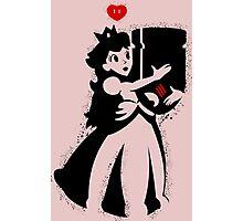 TShirt Princess and Bomb Hugger Banksy Parody Photographic Print