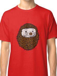 baby comic cartoon süßer kleiner niedlicher igel kugel  Classic T-Shirt