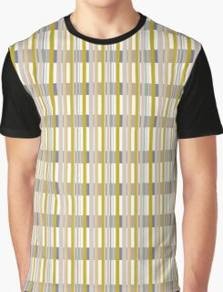No Repeat Chemical Stripe Graphic T-Shirt