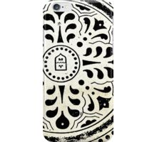 Manhole Cover 5 iPhone Case/Skin