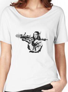 mona flower launcher  Women's Relaxed Fit T-Shirt