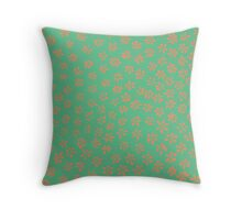 Simple Flowers | Little Snapping Turtle Throw Pillow