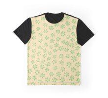 Simple Flowers | Cool Lemon Grass Graphic T-Shirt