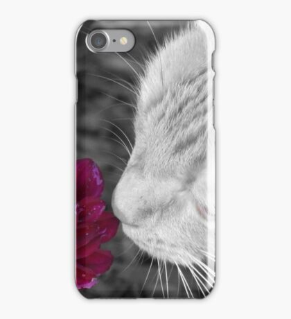 I Must Smell This New Flower iPhone Case/Skin