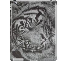 Bengal Tiger Pencil Drawing iPad Case/Skin