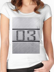 back number Women's Fitted Scoop T-Shirt
