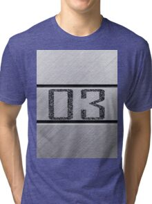 back number Tri-blend T-Shirt