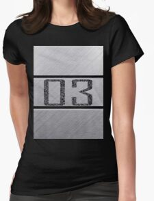 back number Womens Fitted T-Shirt