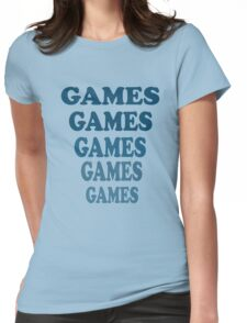 Adventureland - Games Games Games Games Games Womens Fitted T-Shirt