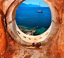 Window to the Ionian Sea by Hercules Milas