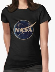 NASA Variant Womens Fitted T-Shirt