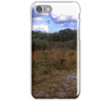 Out on the prairie iPhone Case/Skin