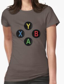 Xbox One Buttons - Minimalist Womens Fitted T-Shirt