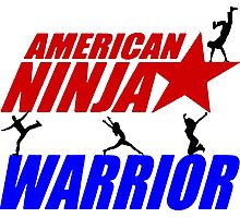 Ninja warrior Photographic Print