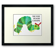 The Very Hungry Caterpie Framed Print