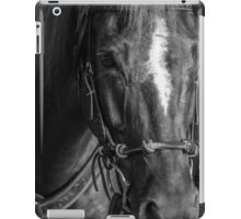 Astro In Black And White iPad Case/Skin