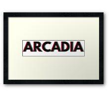 ARCADIA overlap  Framed Print