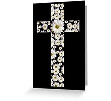 Daisy Cross Greeting Card