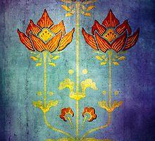 THREE FLOWERS by Tammera