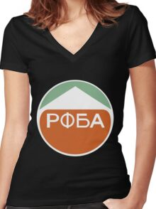 Destiny POBA Women's Fitted V-Neck T-Shirt