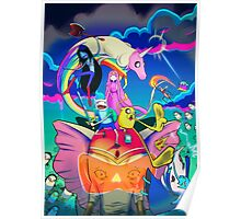 Ancient Psychic Tandem War Elephant  · Adventure Time  Poster