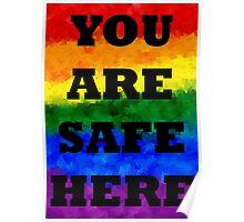 Safe Space Poster V. 4 Poster