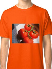 Red Tomatoe Cluster Classic T-Shirt