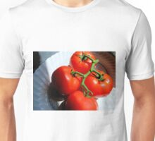Red Tomatoe Cluster Unisex T-Shirt