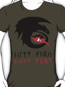 NIGHT FURY - Strike Class Symbol T-Shirt