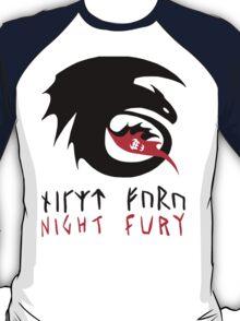 NIGHT FURY - Strike Class Symbol T-Shirt