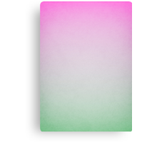 abstract pink and green painting Canvas Print