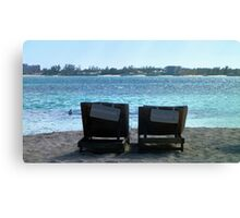 Relaxation At Its Best Canvas Print