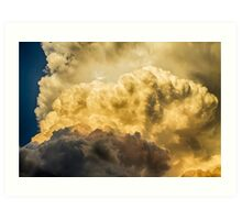 Thunderhead Might Art Print