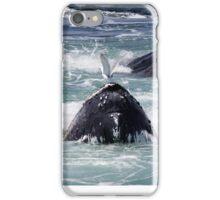 Feeding Whales iPhone Case/Skin