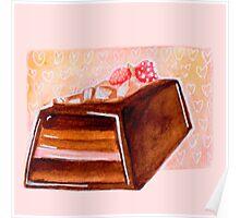 Chocolate Cake Poster