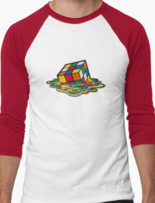 Rubik's Cube Men's Baseball ¾ T-Shirt