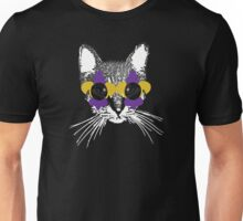 Purple and Gold Pardi Animal (Without the crown and words) Unisex T-Shirt