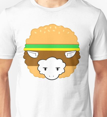 Burger Sheep Unisex T-Shirt