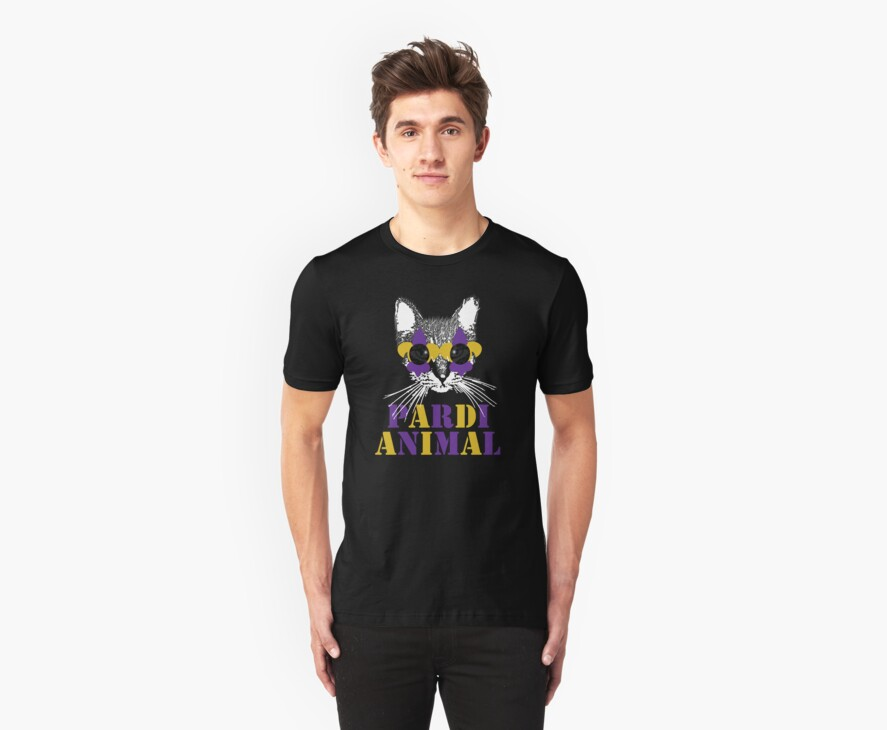 Purple and Gold Pardi Animal (Without the crown) by StudioBlack