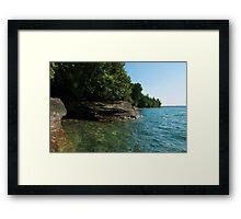 Grand Island Shoreline Framed Print