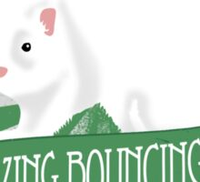 Bouncing Ferret Tee Sticker