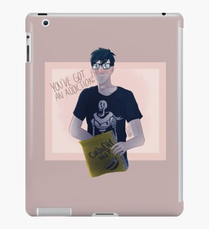 Phil's cereal addiction iPad Case/Skin